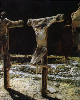 Crucifixion, by Nikolai Ge