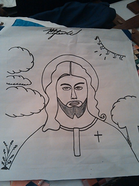 Drawn by Myles, of Gary, Indiana