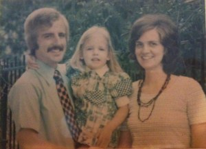 This is what missionary families looked like in the 70's. Movember, eat your heart out.