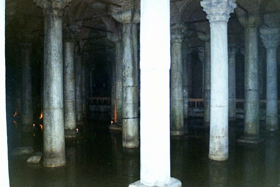 My personal cellar is not this cool. This one is Istanbul's. (25 - The Basilica Cistern (Yerebatan Sarayı)
