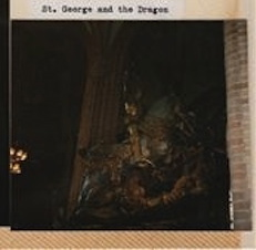 St. George (a knight) and a dragon? Storkyrkan in Stockholm was much more my speed.