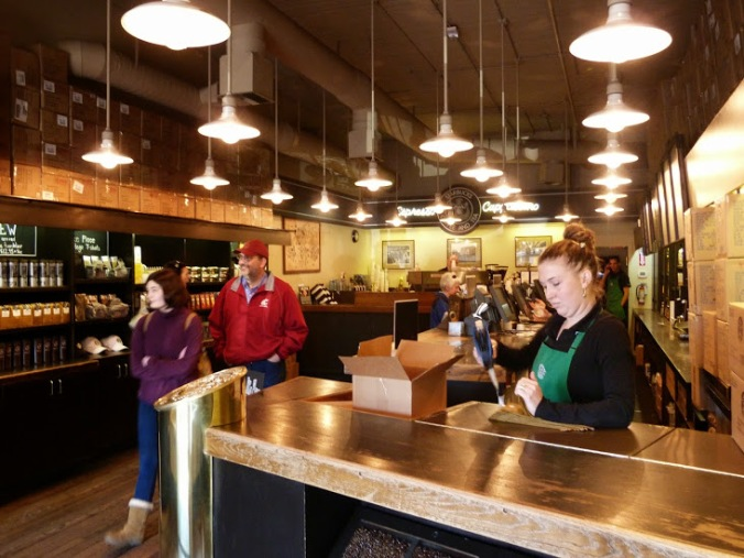 The original Starbucks, which I visited years and years after this story happened.