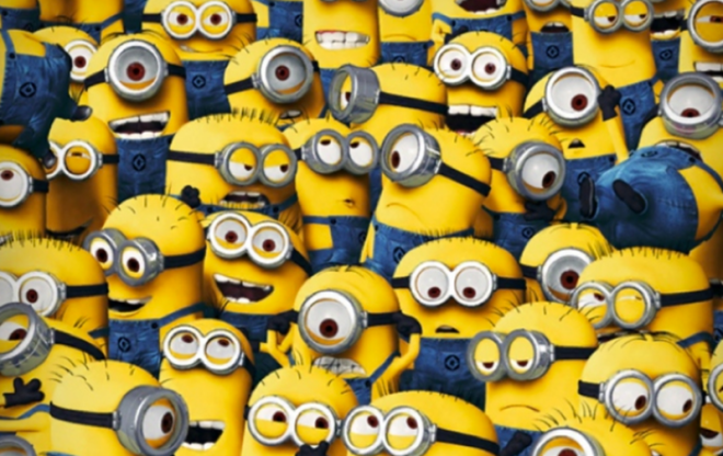It's tough to blog with all these minions. (Also, this illustration is an attempt to really get on the nerves of a specific blogging friend I know.)